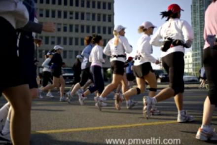 Marathon from the inside