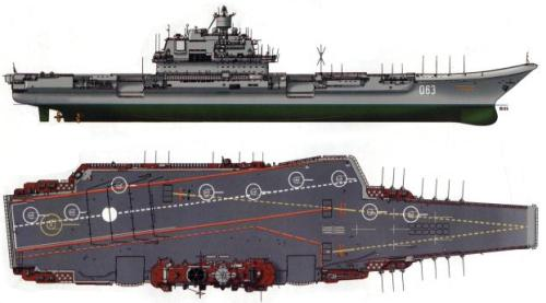 Admiral Kuznetzov - Russian aircraft carrier