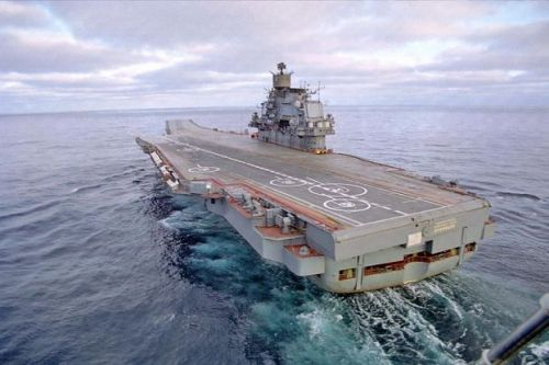 Kuznetzov Russian Aircraft Carrier