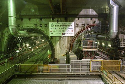 Tokyo, Shinjuku underground highway tunnels