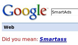 Google: Yahoo SmartAds is too smartass