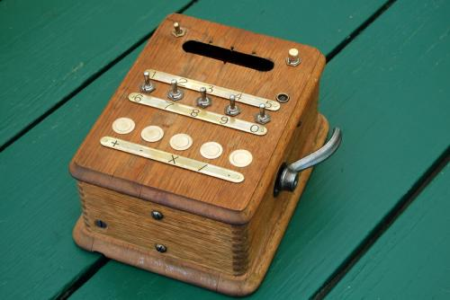 Aaron Adding Machines calculator by Andy Aaron