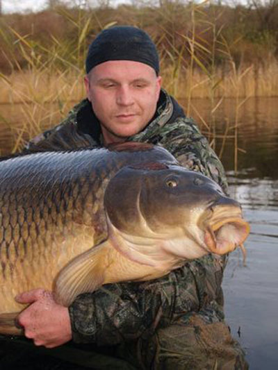 Biggest sweet-water fish (carp) ever caught. By Dieter Markus Stein