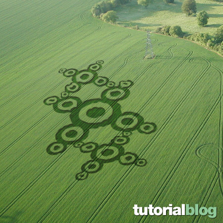 Do it yourself: circles on the crops