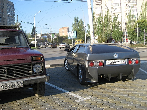 Russian Lamborghini Gallardo clone