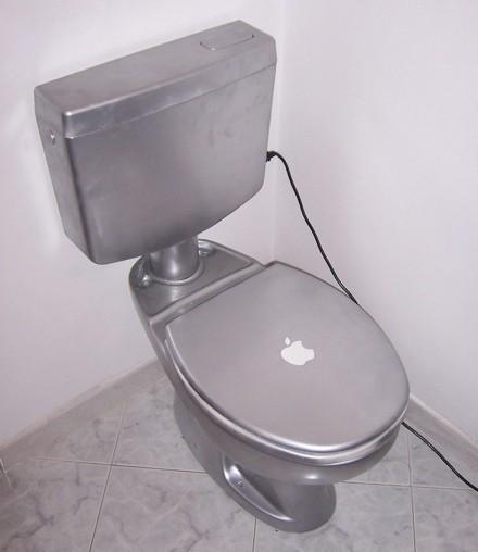 iToilet MacBook Pro style