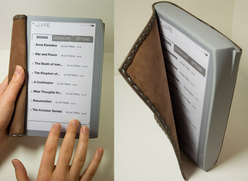Livre - eBook reader concept