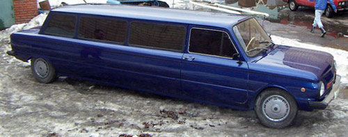 Weird limo: Ukrainian stretch