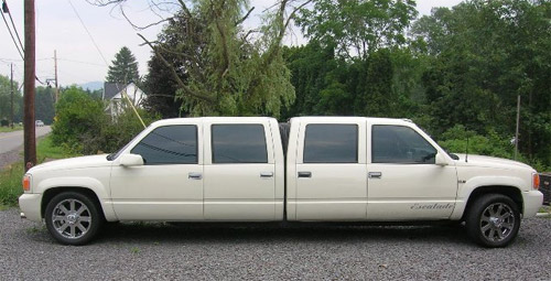 Weird limo: chevy