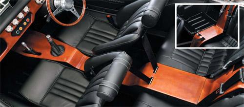 Morgan 4 Seater interior