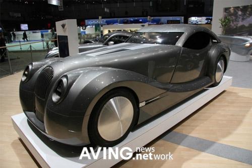 Morgan Life Car at the Geneva Motor Show
