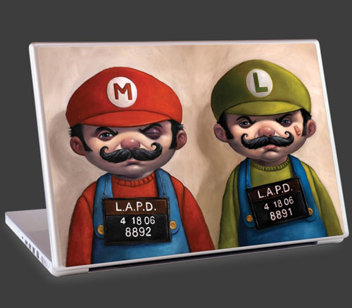 Mario Bros. artwork by Bob Dob