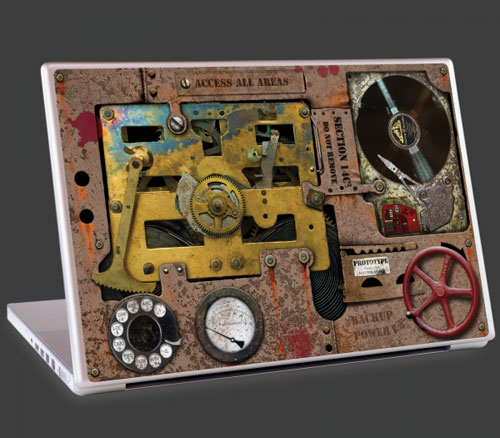 Steampunk by Colin Thompson laptop