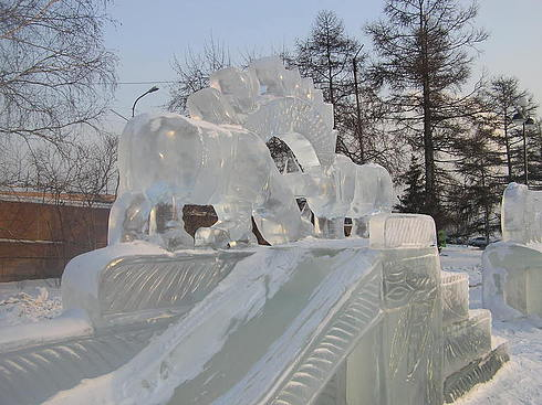 Africa in ice