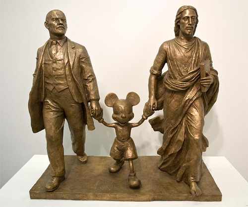 Lenin, Mickey and Jesus