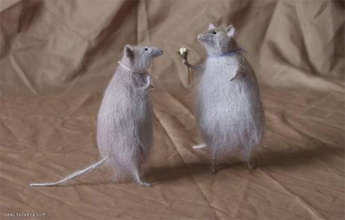 Stuffed mice by Natasha Fadeeva
