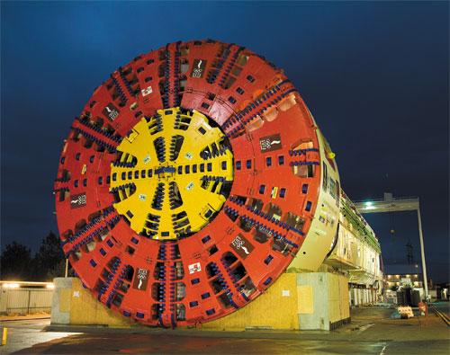 world largest tunnel boring machine