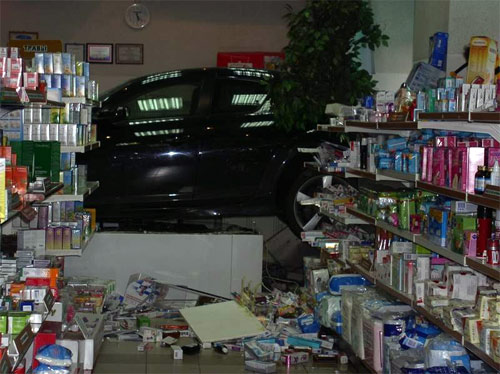 Mazda RX8 in the drugstore