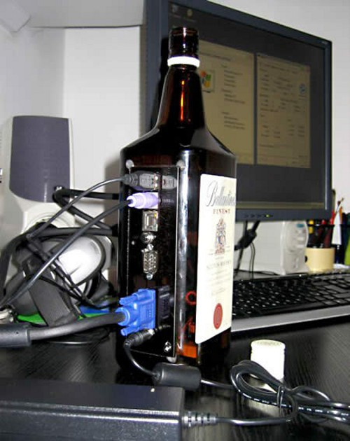 Creative PC case - bottle