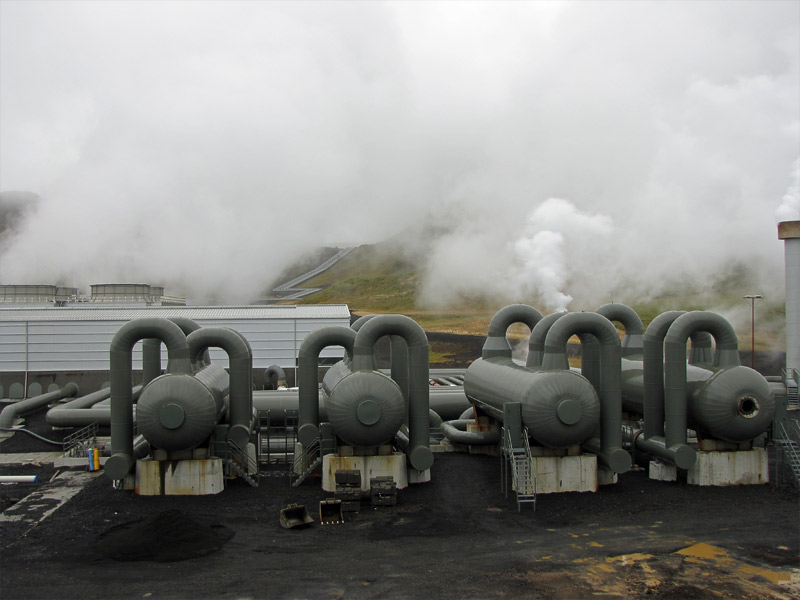 Geothermal power plant machines