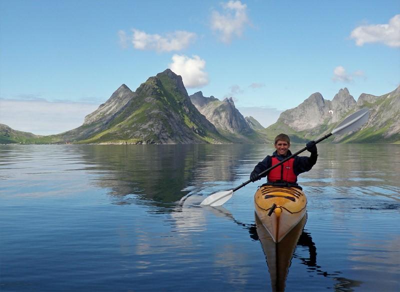 Reinebringen peak, Lofoten islands