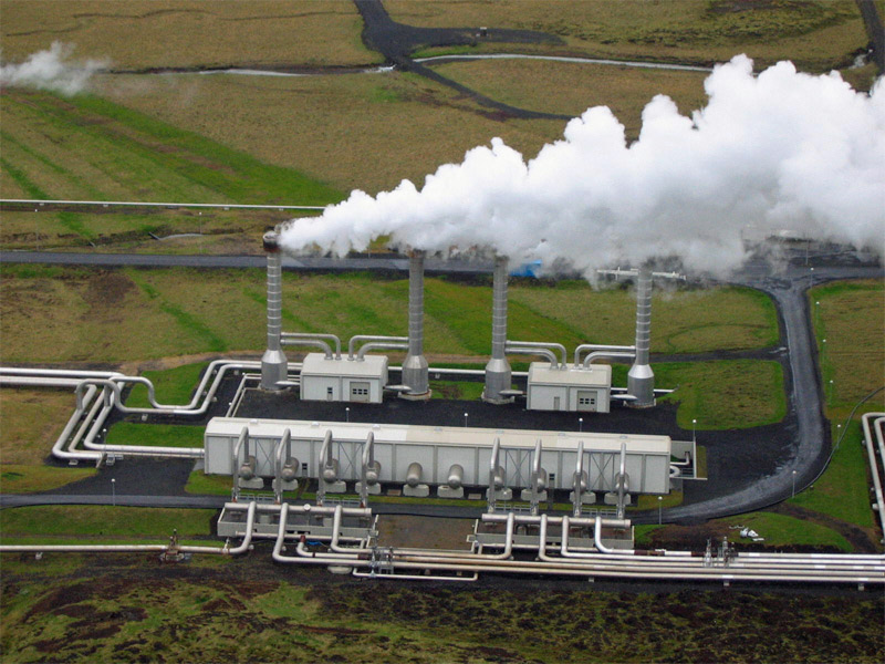 ... icelandic geothermal power plant nesjavellir geothermal power station