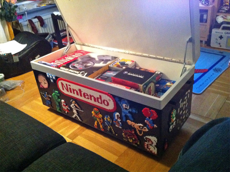 Nintendo NES coffee table