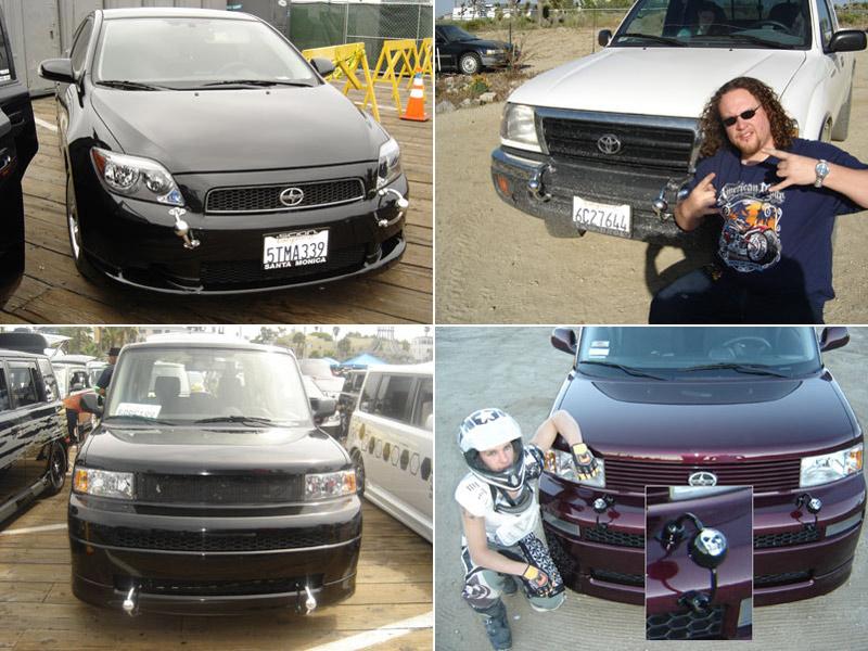 Pierced cars