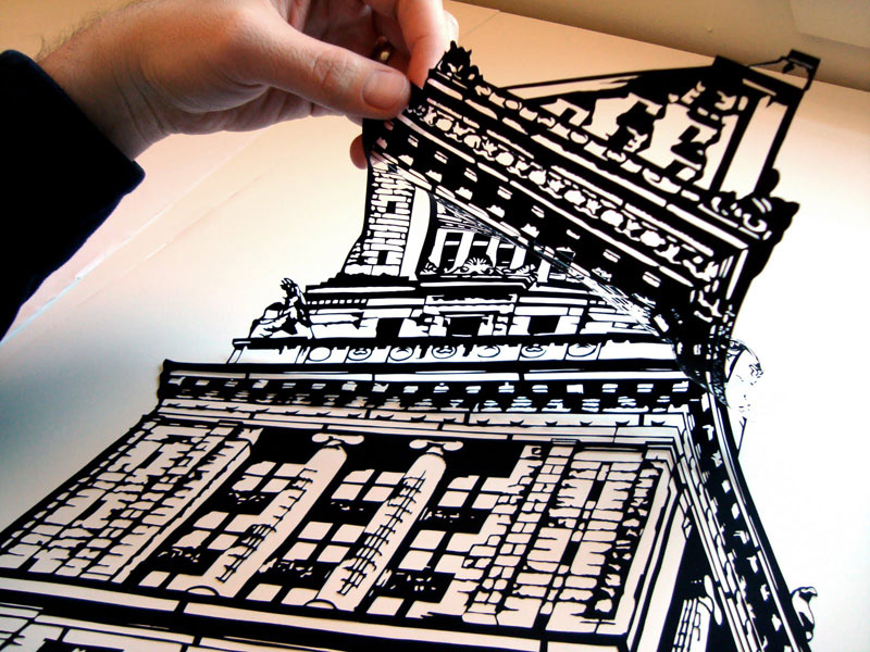 Joe Bagley papercut
