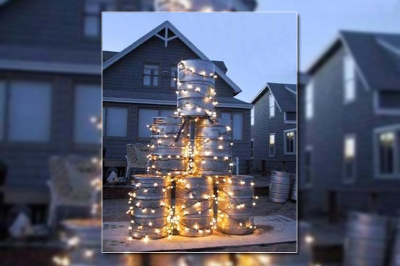 ridiculous christmas tree