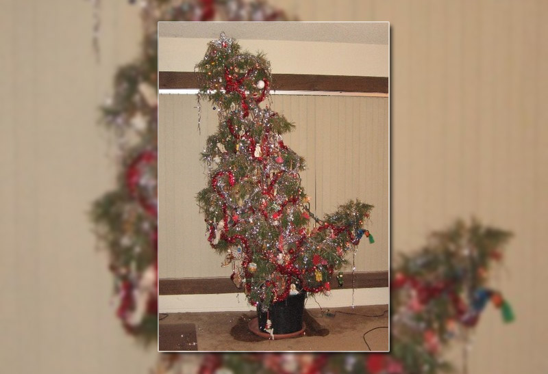 ugly christmas tree