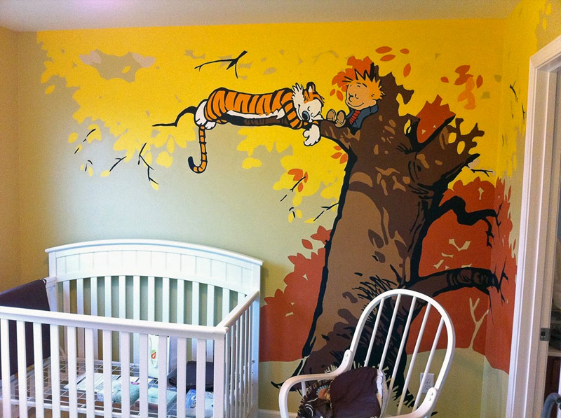 6. Another Calvin and Hobbes nursery