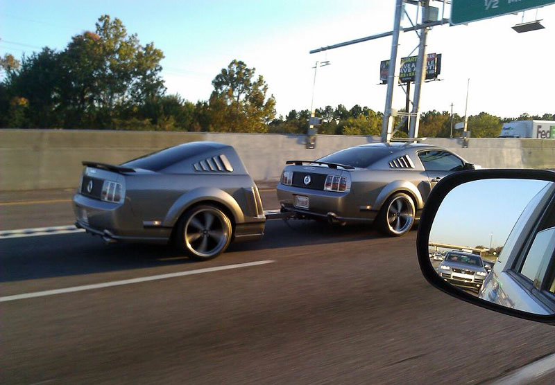 1. One and a half Mustang