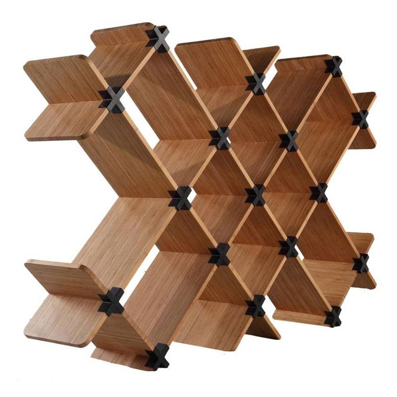10. Bamboo bookshelf