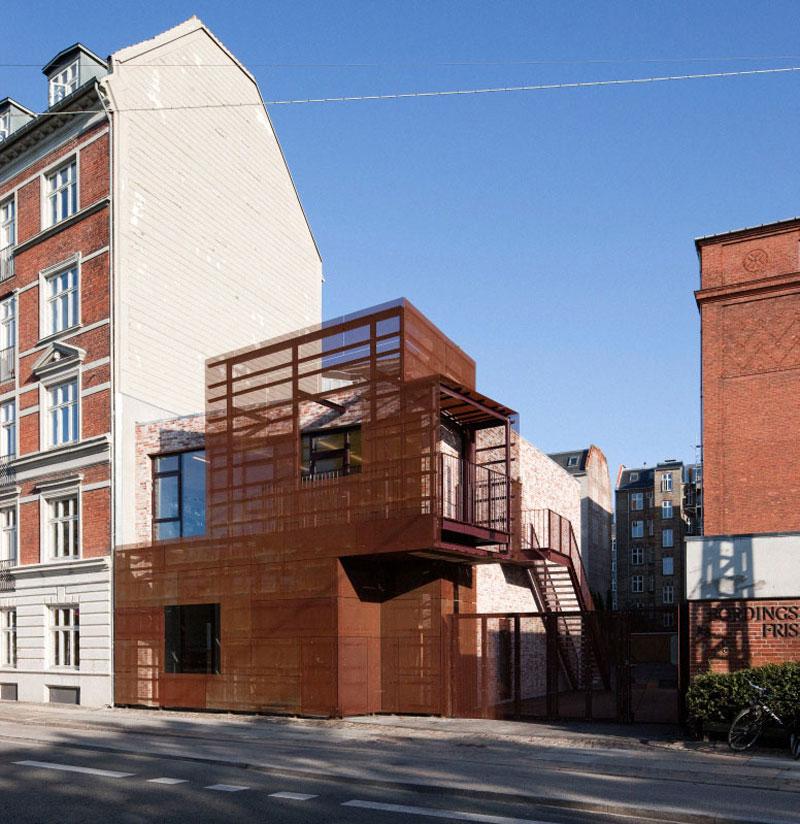 8. Bordings Independent School in Copenhagen, Denmark by Dorte Mandrup Arkitekter