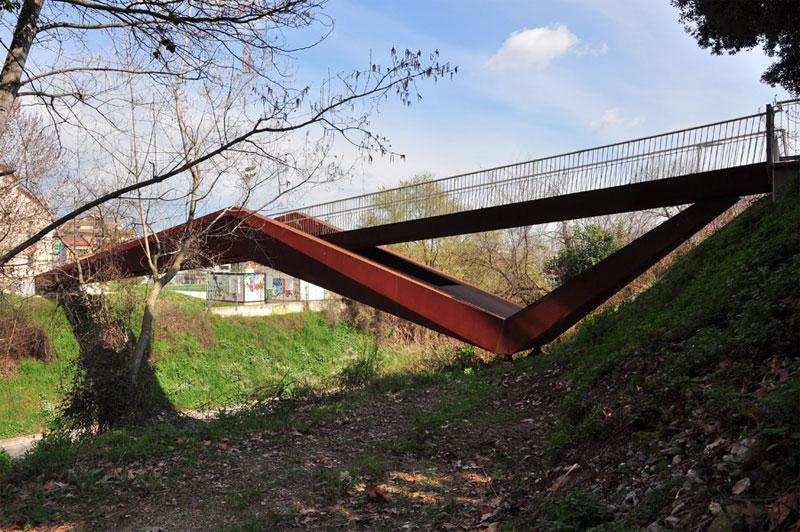 11. Can Gili Footbridge in Granollers, Spain by Alfa Polaris