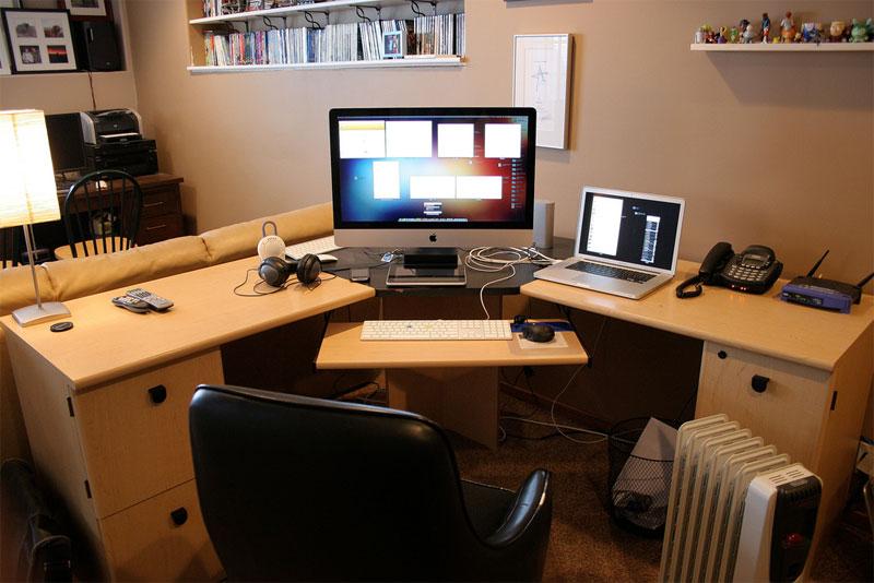 2. Corner transforming table setup