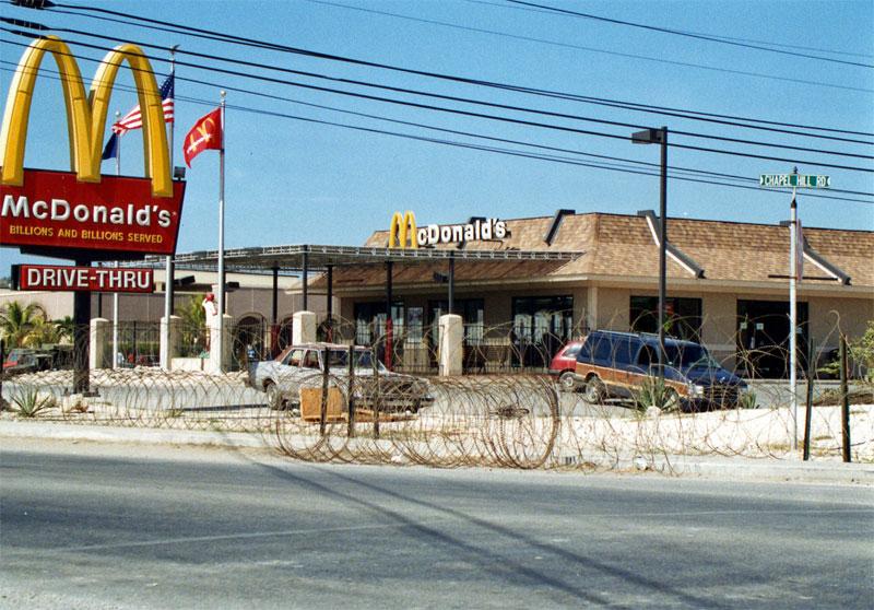 Cuba's only MacDonalds