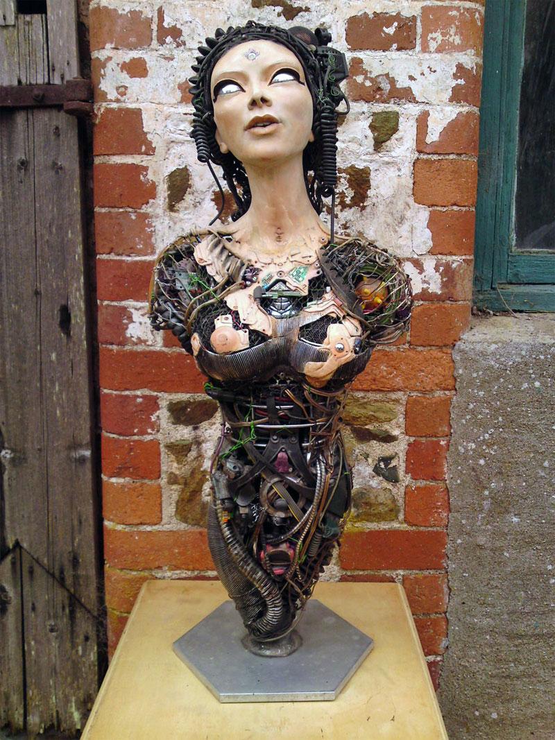 Cyber Lady by Matt Cummings