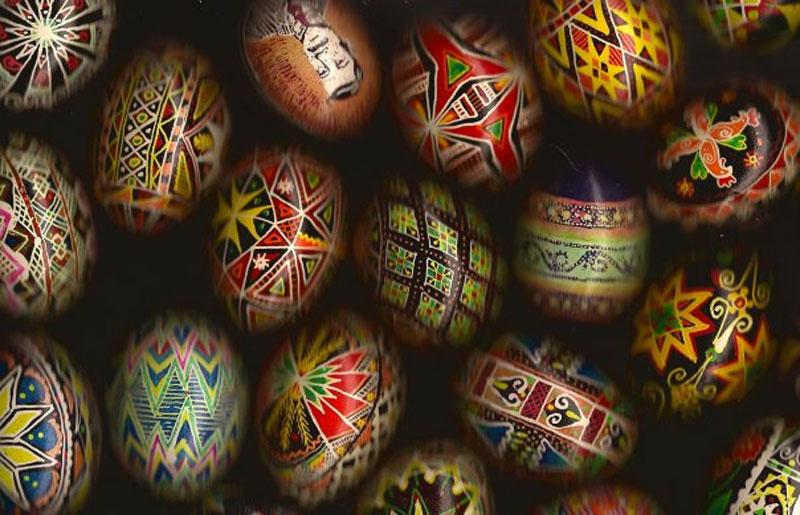 2. Ukrainian Easter eggs
