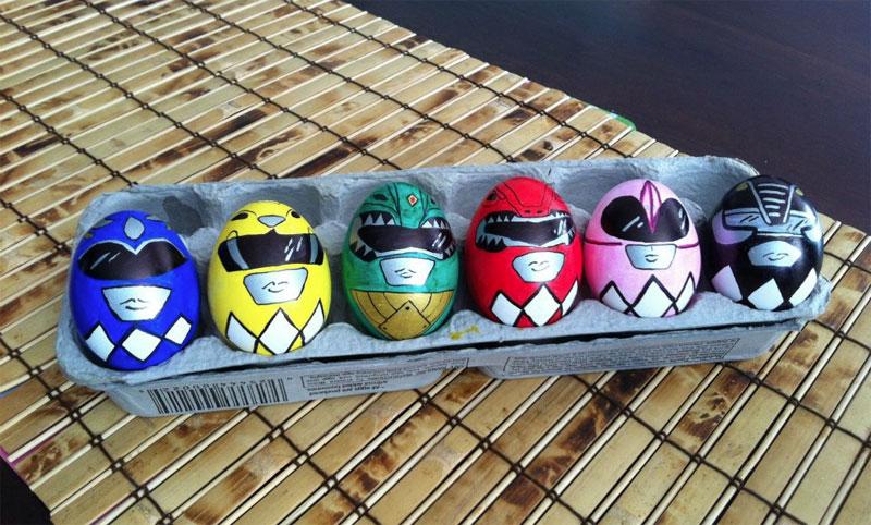 12. Power Rangers Easter eggs