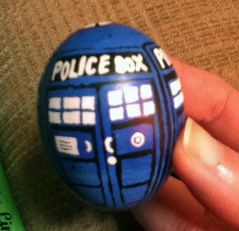 6. Doctor Who's Tardis Easter egg