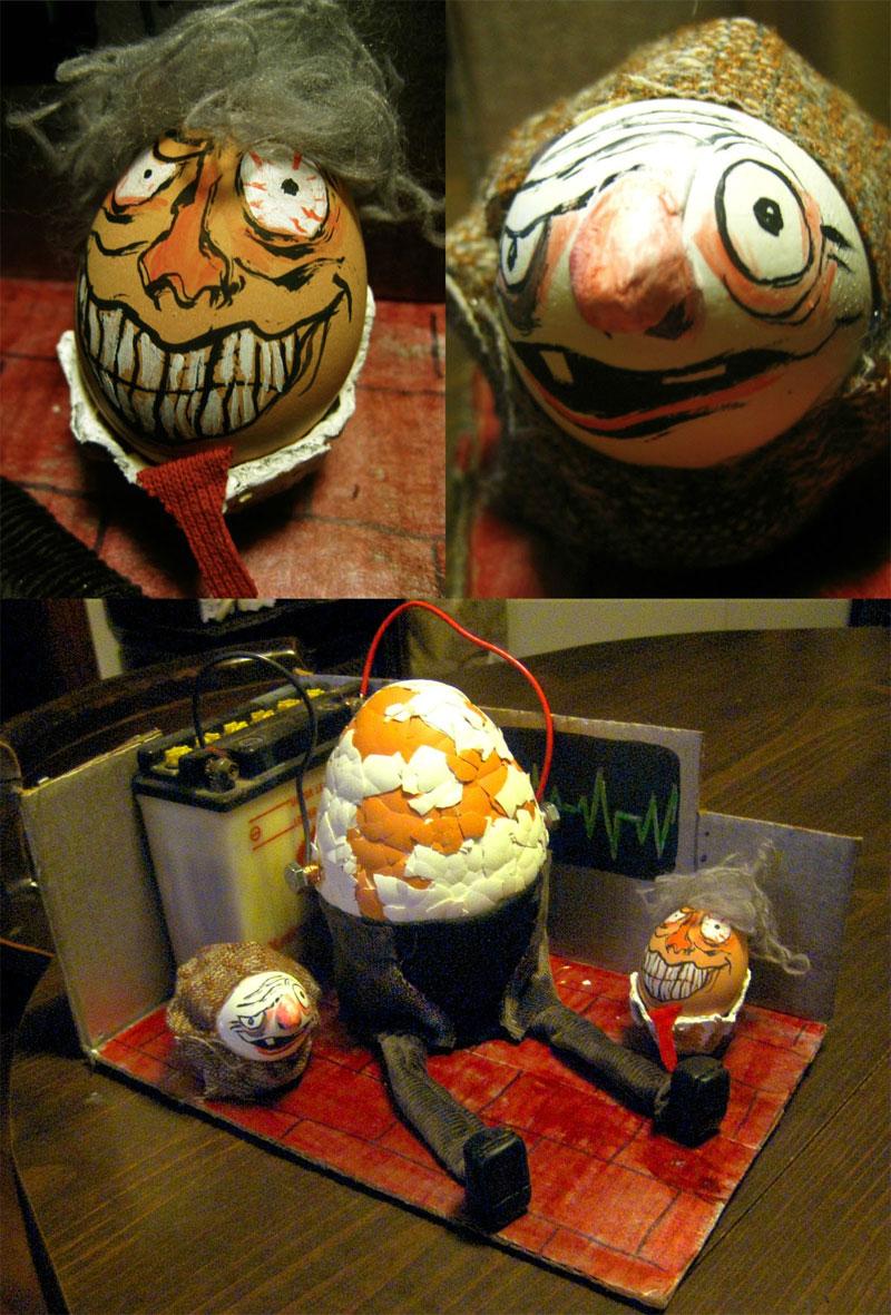10. Frankenstein Easter eggs