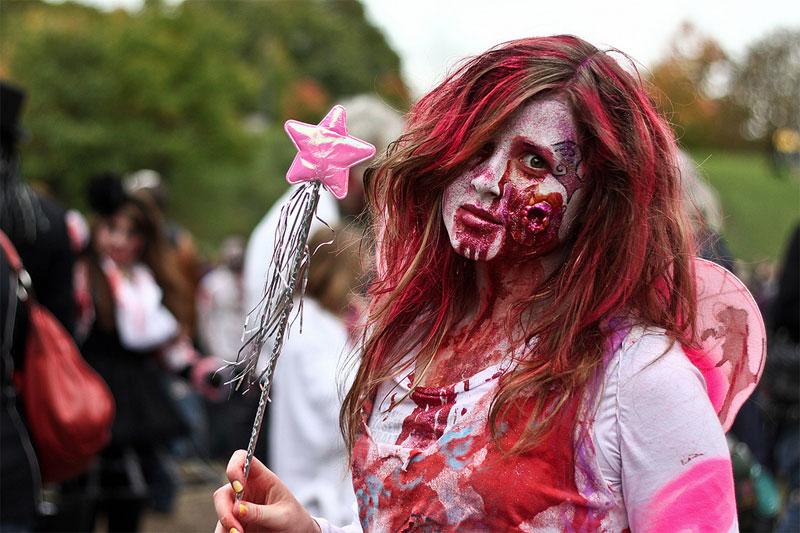 3. Fairy zombie at Toronto 2011 Zombie Walk. Photo by Jackman Chiu
