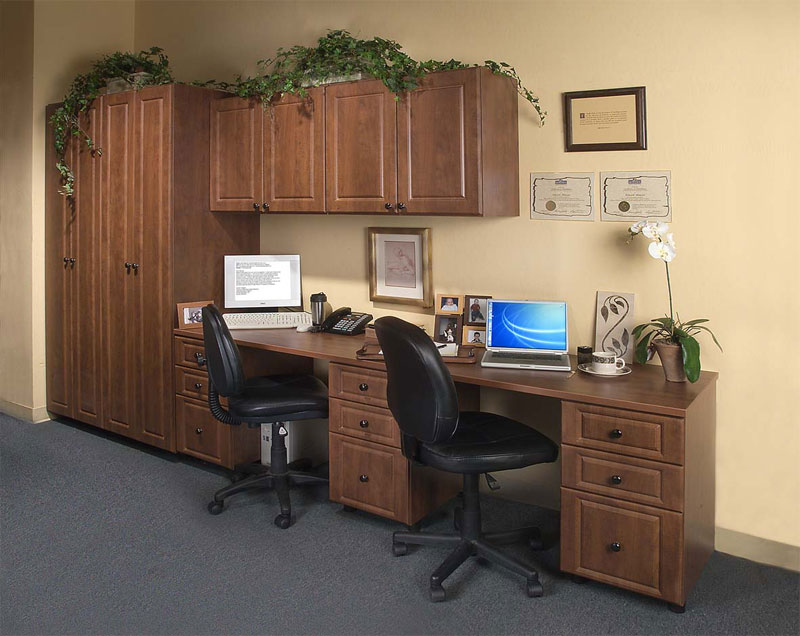20. Home office for two