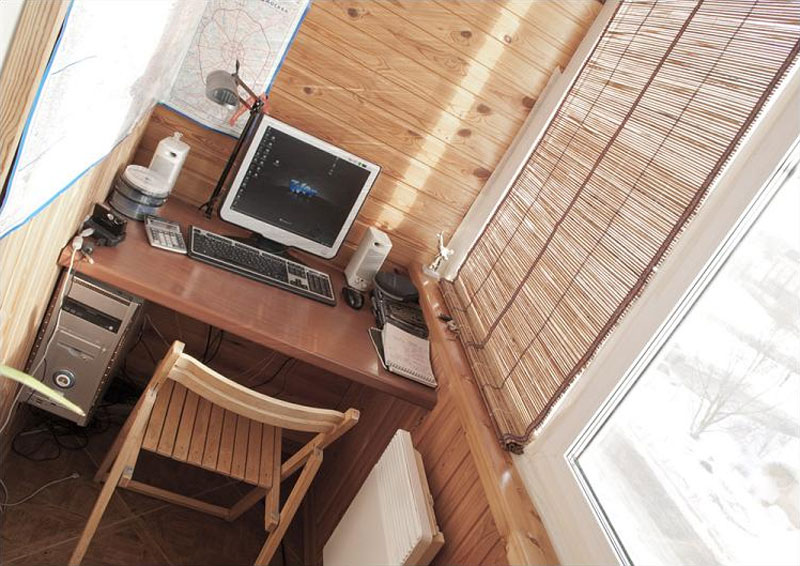 18. Limited space home office