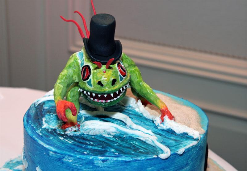 1. Murloc cake
