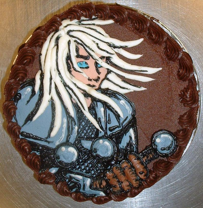 11. Night Elf cake