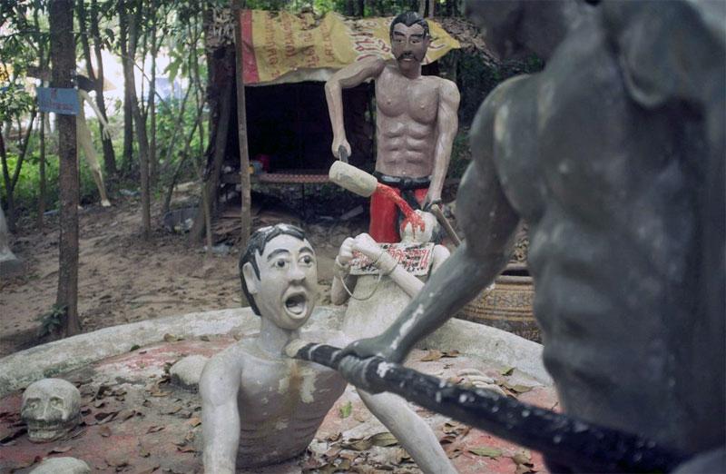 4. Thai Hell theme-park