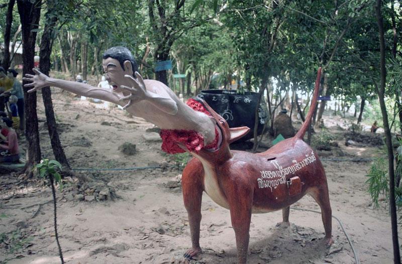 5. Thai Hell theme-park